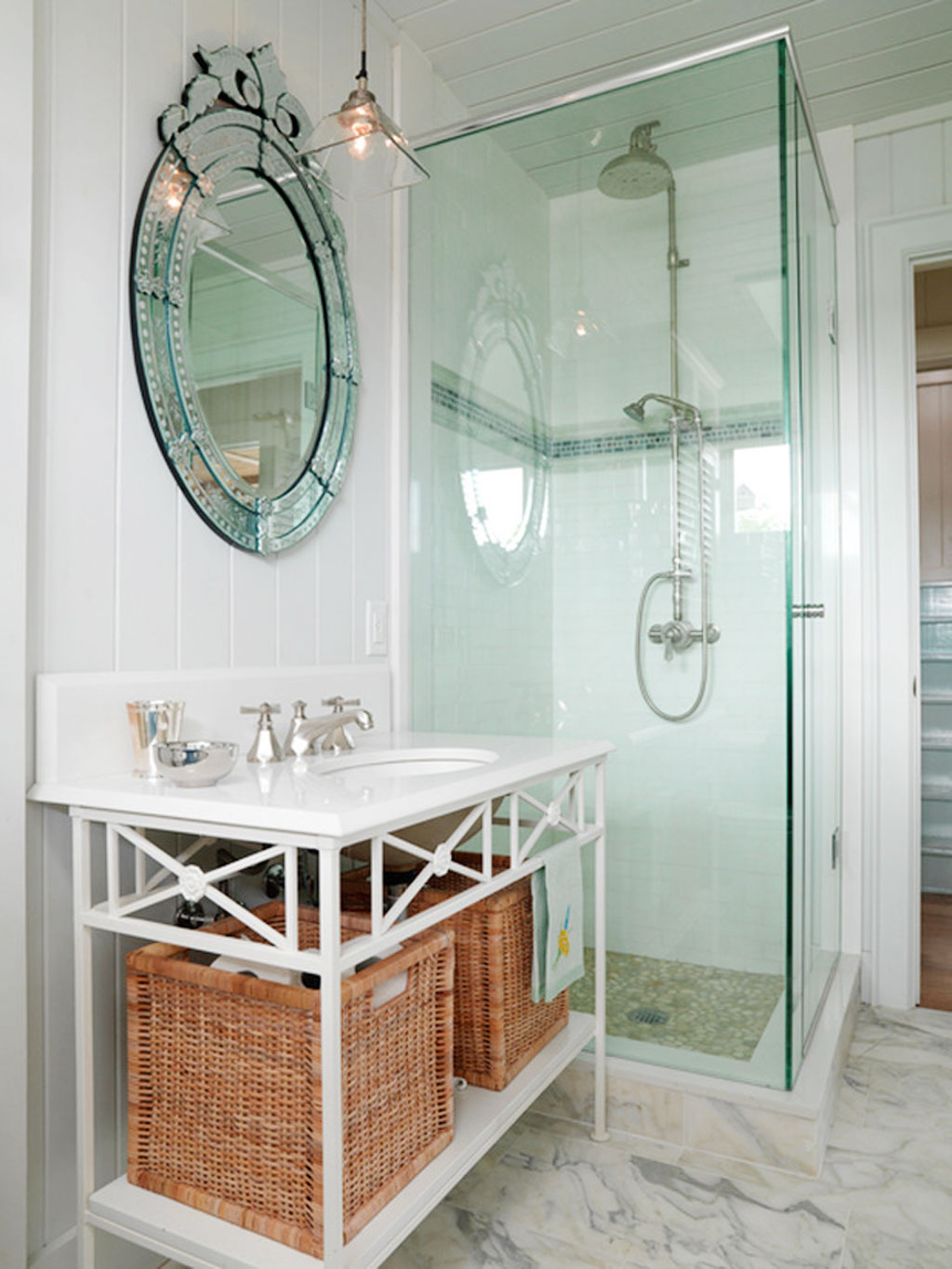 Efficient bathroom storage ideas for small spaces | EwdInteriors