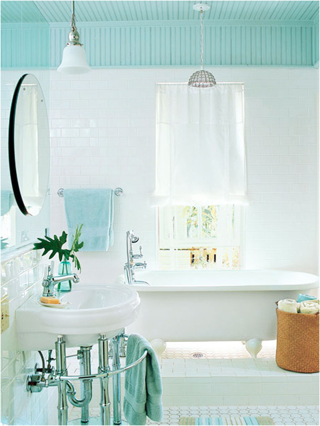 cottage style bathroom vanities | ewdinteriors