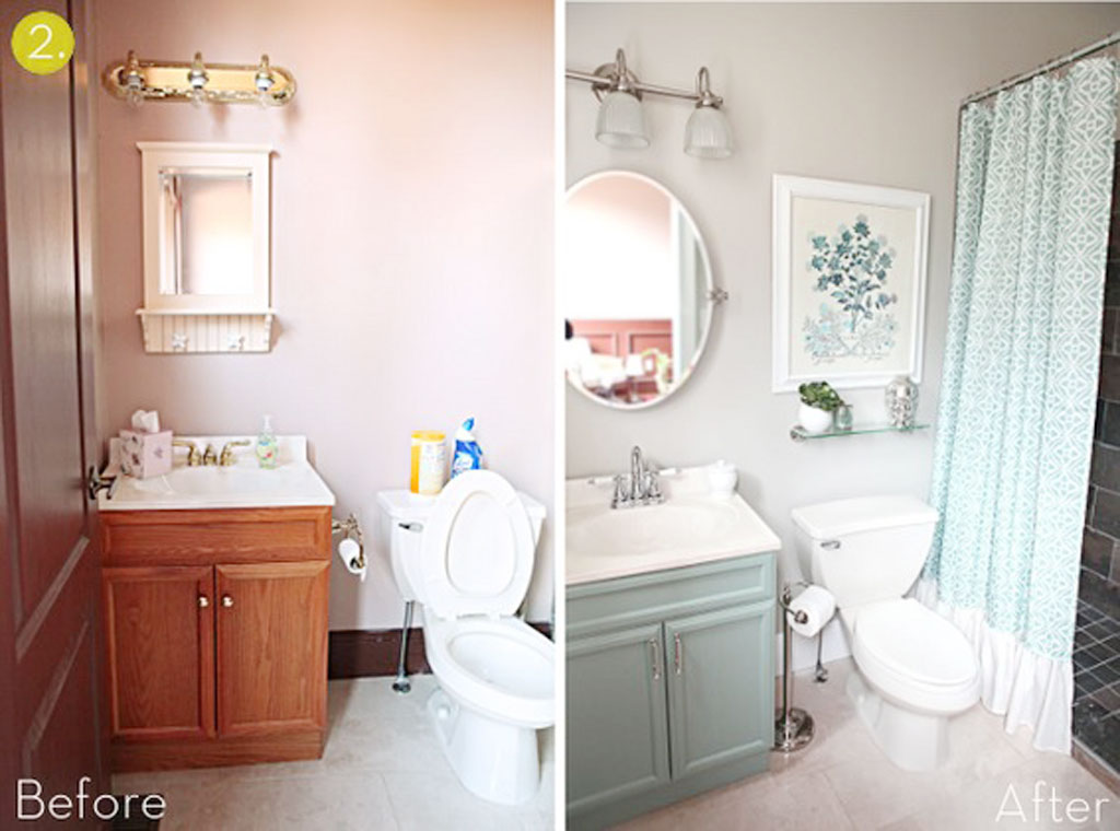 8 Photos Of The The Process Of Small Bathroom Makeover Ideas
