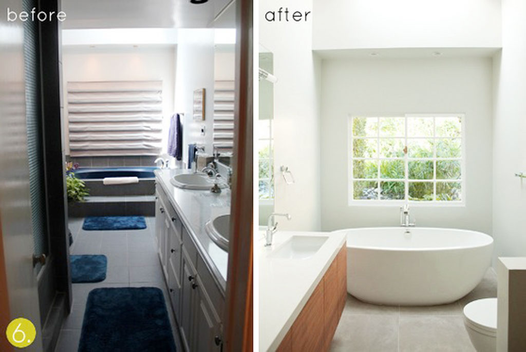 Bathroom Makeovers Ideas Pictures the process of small bathroom makeover ideas | ewdinteriors