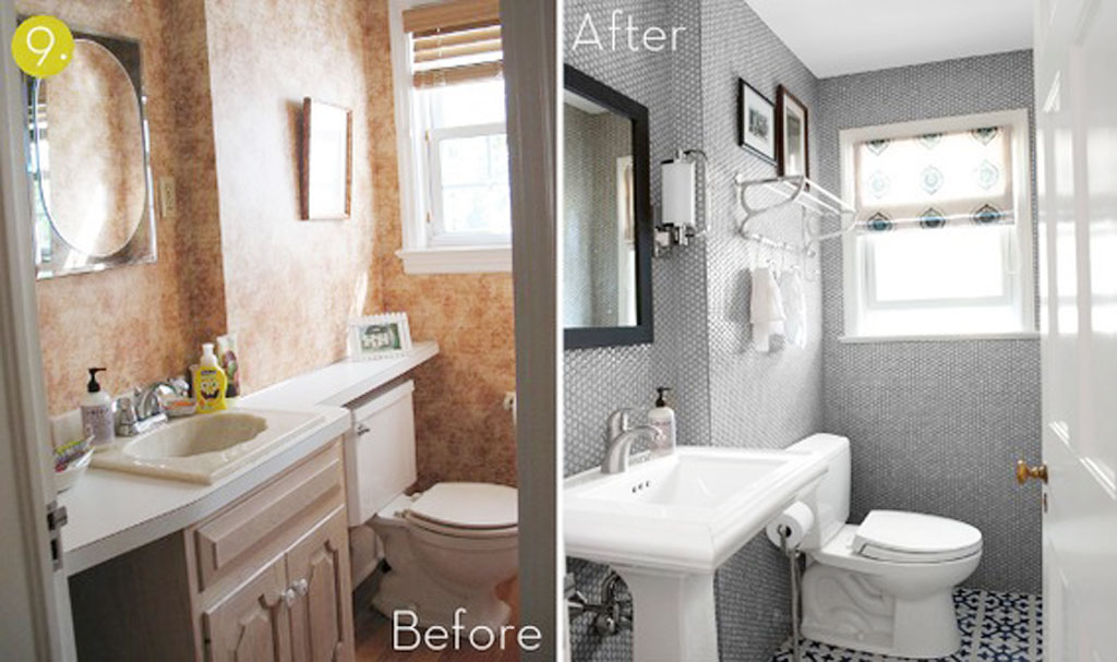 Bathroom Makeovers For Small Bathrooms Photo Gallery small-bathroom-makeover-ideas-008 : ewdinteriors
