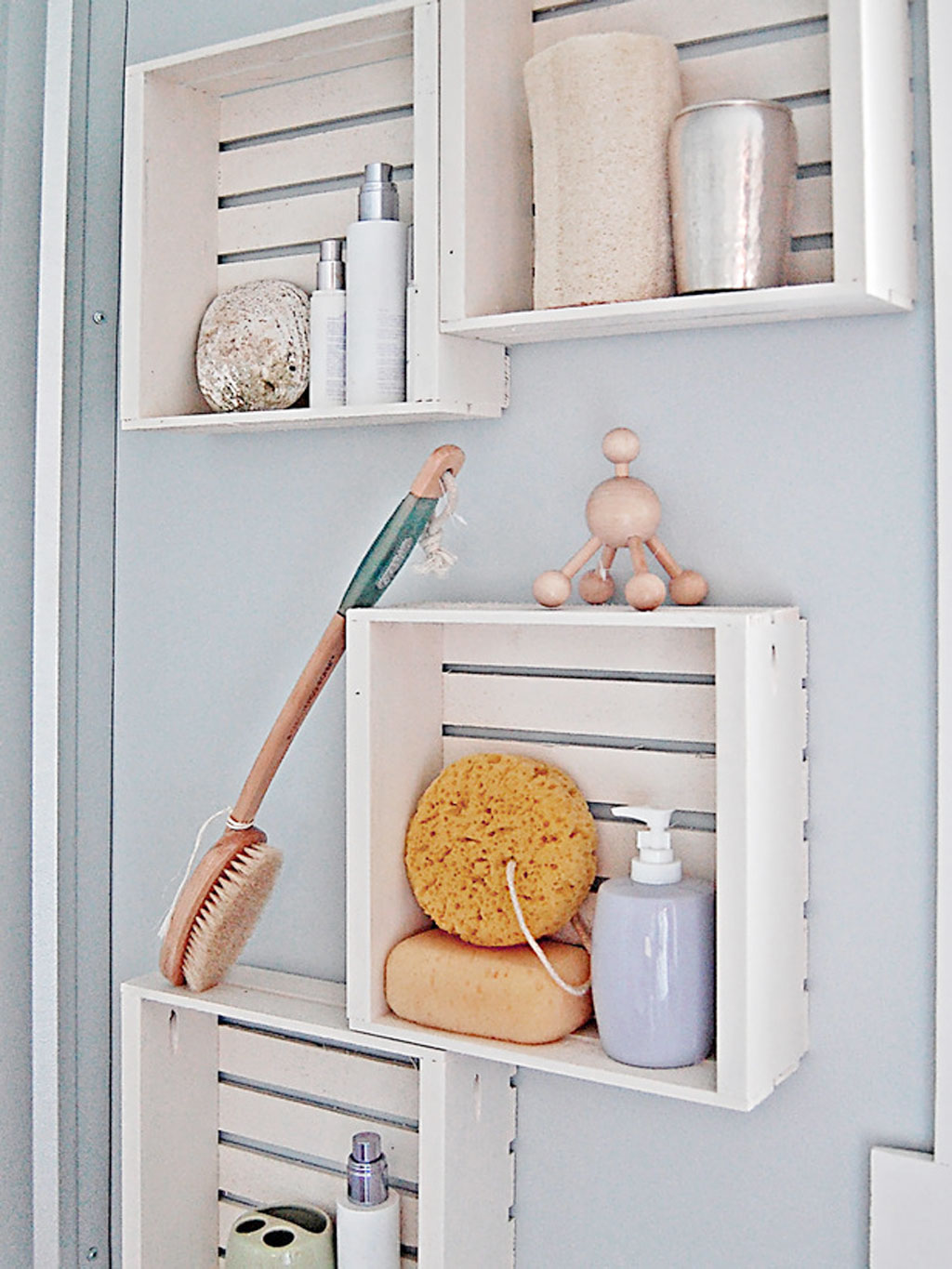 Diy bathroom ideas for small spaces - 6 Photos Of The Efficient Bathroom Storage Ideas For Small Spaces