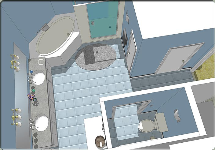 Photo Gallery Of The 3d Bathroom Designs