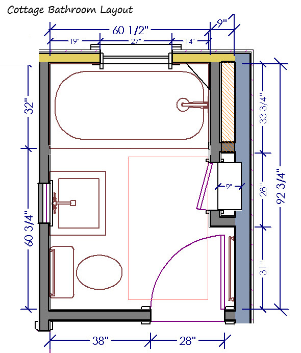 Bathroom Layout Designs | 5 Small Bathroom Design Layout To Look At Ewdinteriors