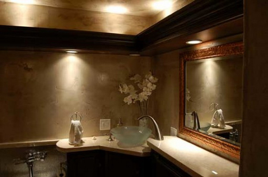 Photo Gallery Of The Best Bathroom Lighting Ideas