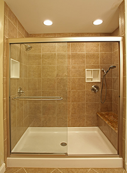 photo gallery of the tile bathroom shower stall design ideas - Shower Stall Design Ideas