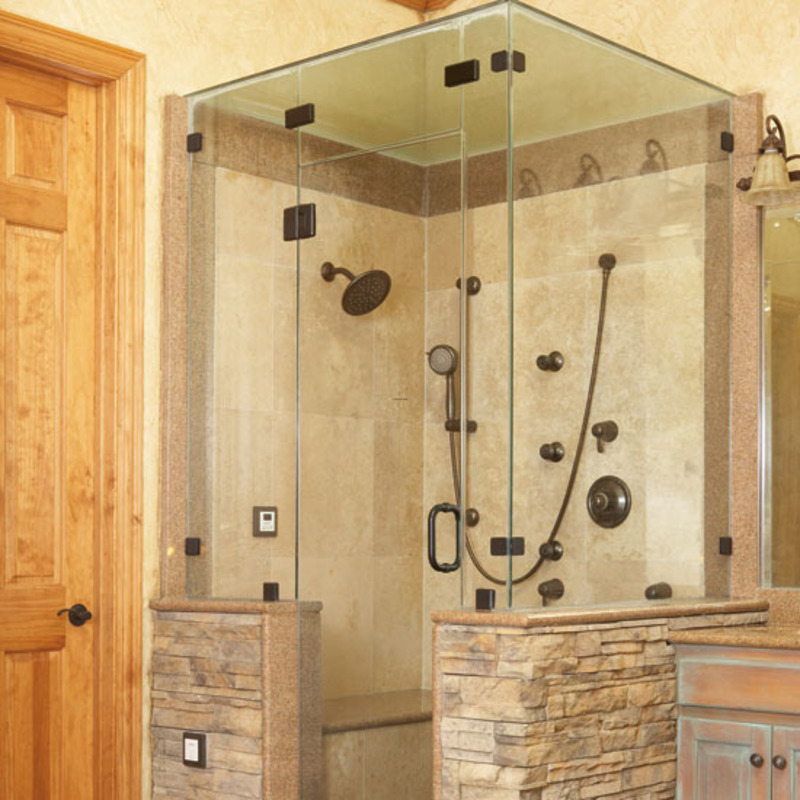 12 Fantastic Bathroom Shower Designs