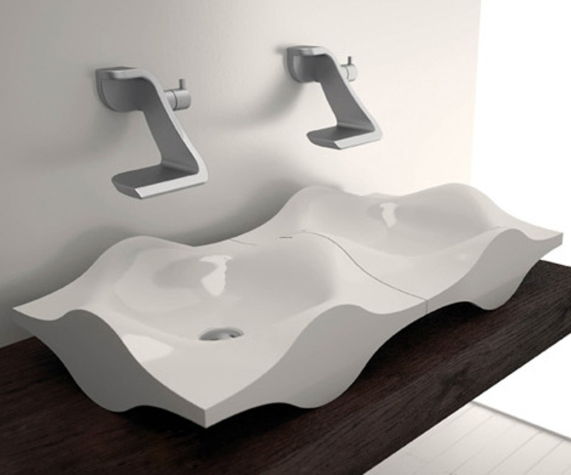 the amazing photo below is part of 8 amazing designer bathroom sinks piece of writing which is arranged within bathroom bathroom design toilet