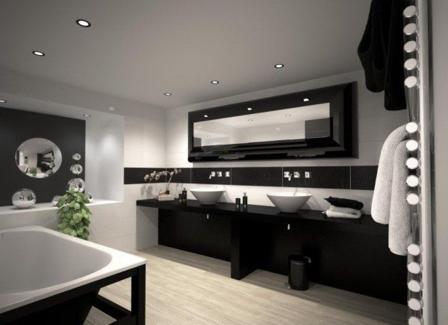 photo gallery of the master bathroom interior design ideas