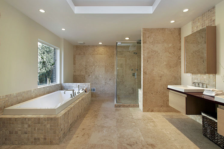 8 stunning open shower bathroom design