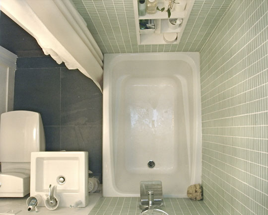 9 Fabulous Small Full Bathroom Designs: Compact Full Bathroom