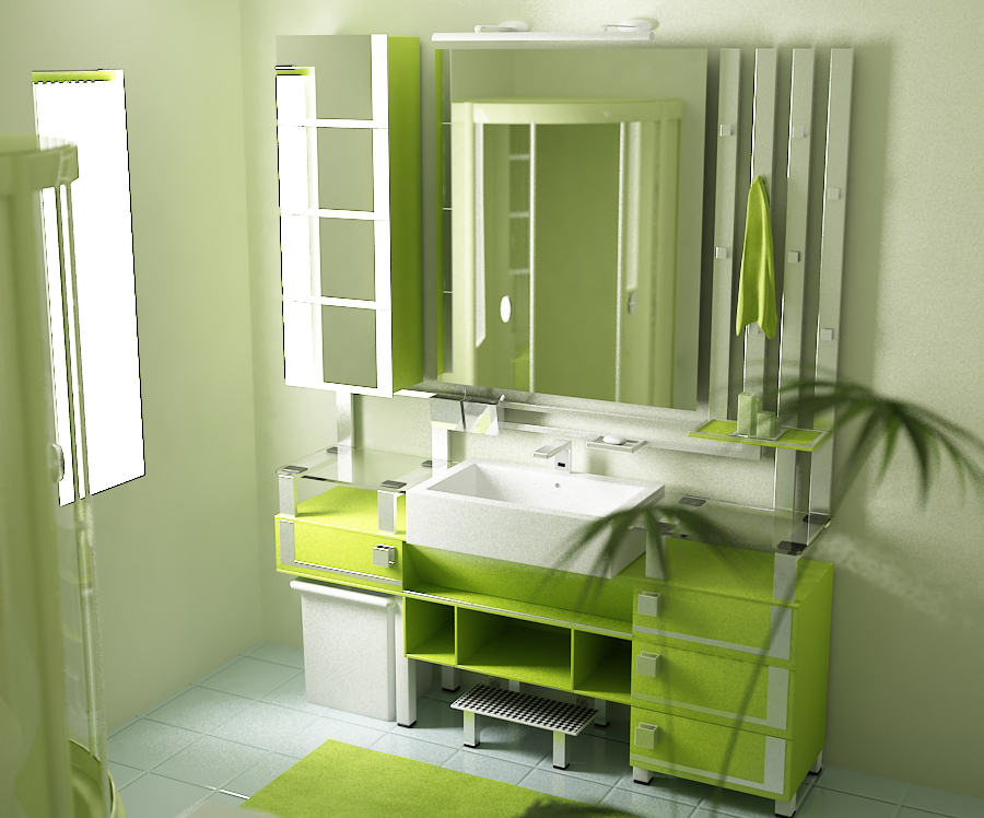 cool bathroom color - Restroom Design Ideas