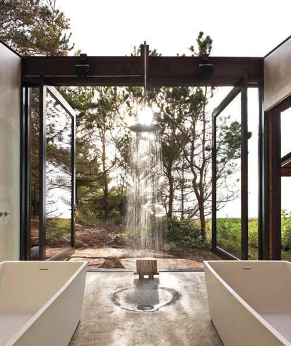 Photo Gallery Of The Creative Bathrooms With Outdoor Space
