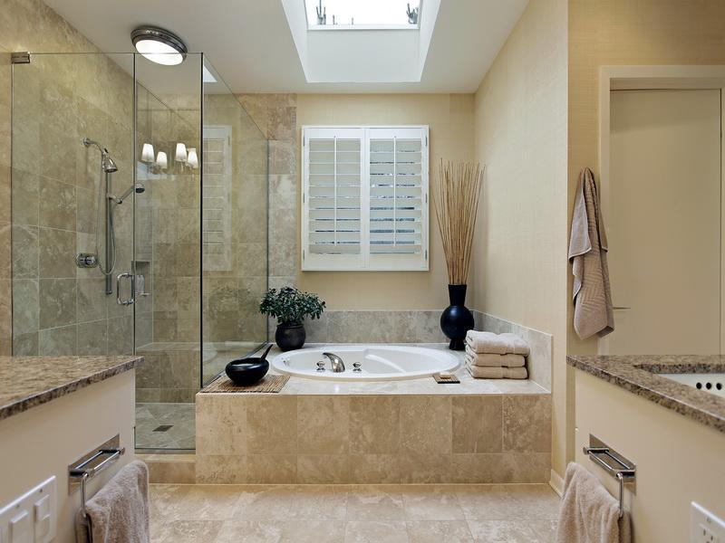 9 Amazing Small Master Bathroom Design Ideas: Elegant Master Bath  Decorating Ideas