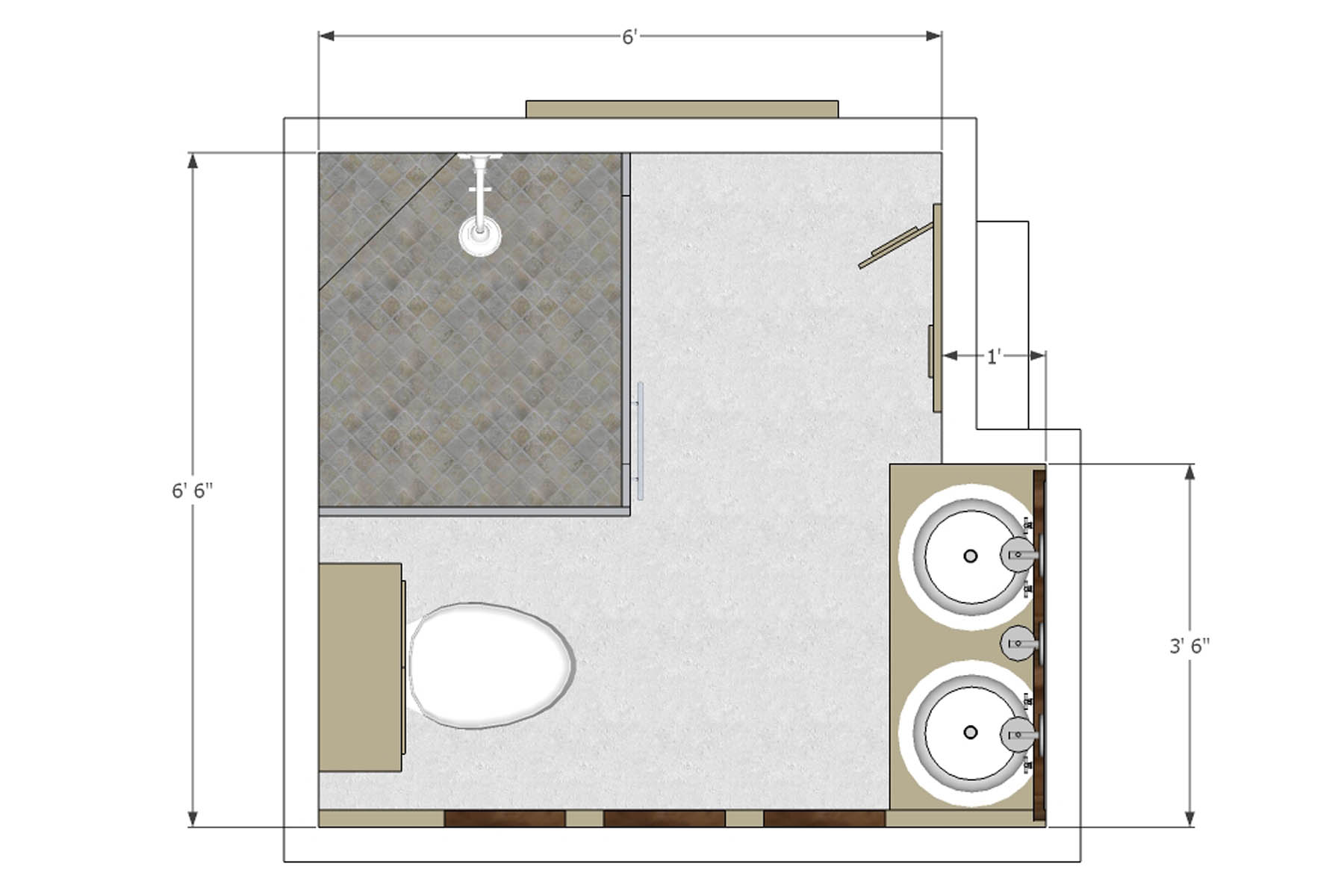 Free Bathroom Layout Design Tool : EwdInteriors