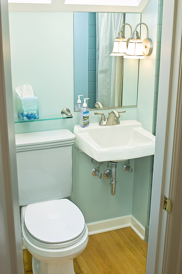 Photo Gallery Of The Small Half Bath