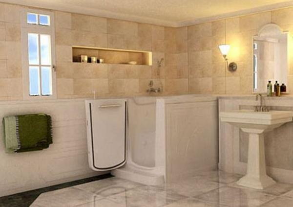 Handicapped Friendly Bathroom Design Ideas EwdInteriors