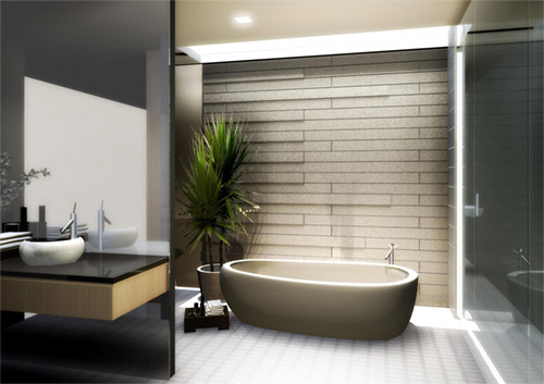 Japanese Bathroom Design japanese bathroom design : ewdinteriors