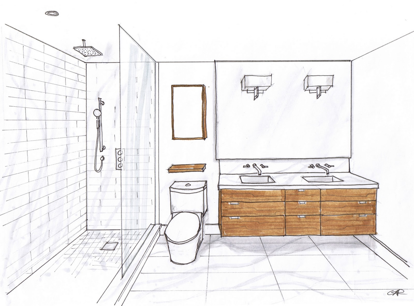 Strange Bathroom Excel As A Design Tool Layout Kitchen Design Bathroom Largest Home Design Picture Inspirations Pitcheantrous