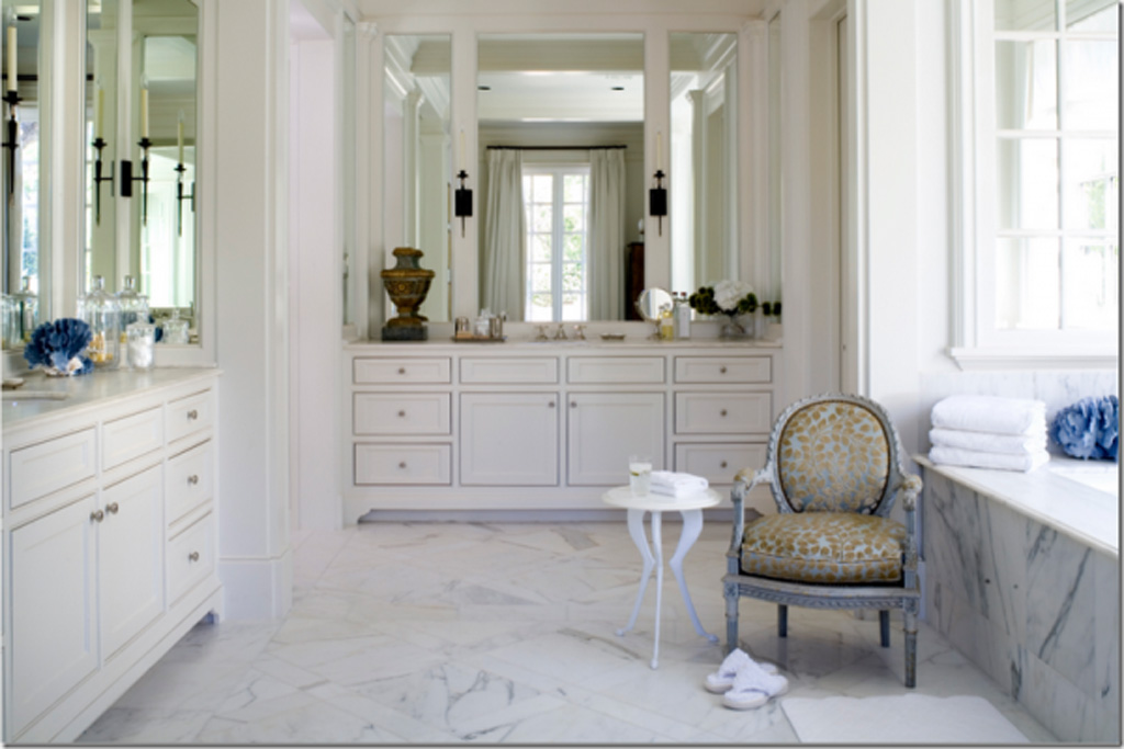 photo gallery of the white bathroom design chinese style