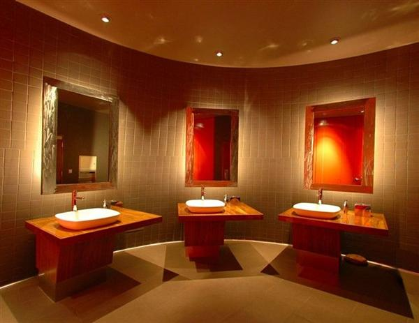 5 Lovely Restaurant Bathroom Design: Mexican Restaurant Design