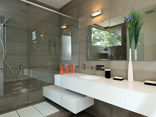 Awesome 9 Popular Master Bathrooms Designs: Modern Master Bathroom Designs