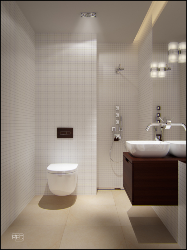Modern Small Bathroom Design With Great Sink Image