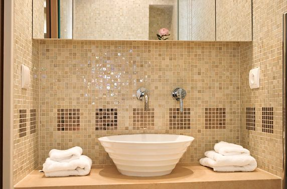 photo gallery of the unique mosaic bathroom design - Mosaic Bathroom Designs
