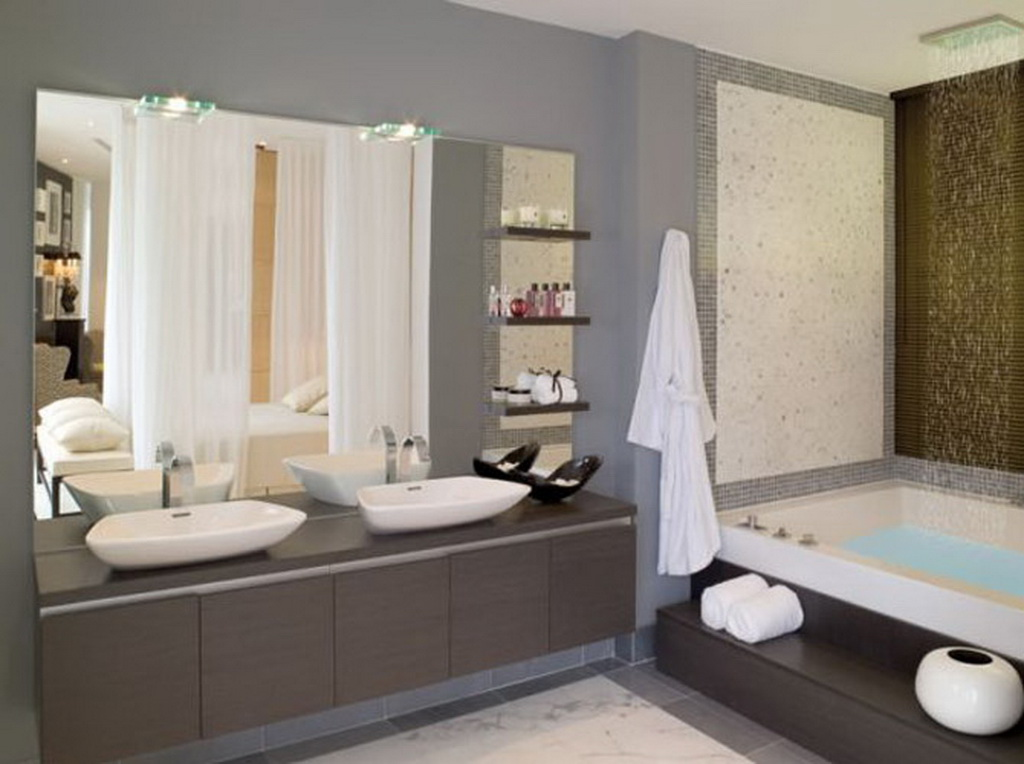 New Modern Home Bathroom Design : EwdInteriors