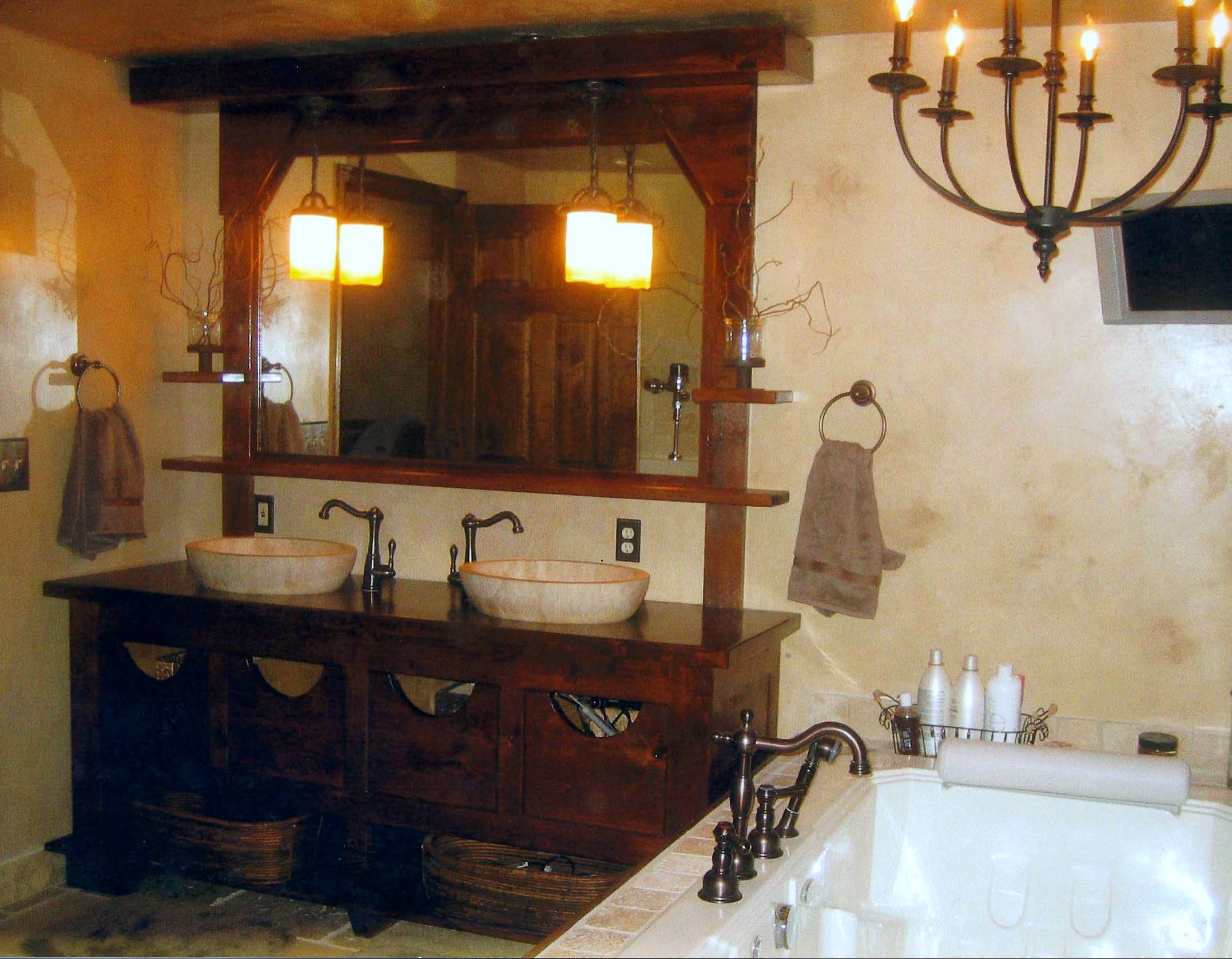 10 old world bathroom designs to think about ewdinteriors - Pleasant bathroom designs small bathroom radical change simple remodeling ...