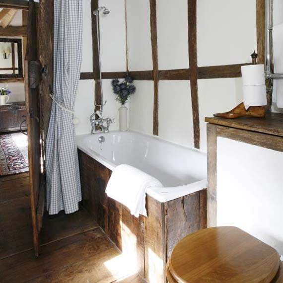 Photo Gallery Of The Rustic Bath