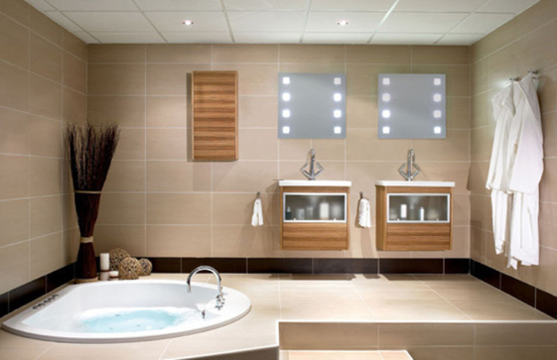 photo gallery of the modern spa bathroom design - Spa Bathroom Design Pictures