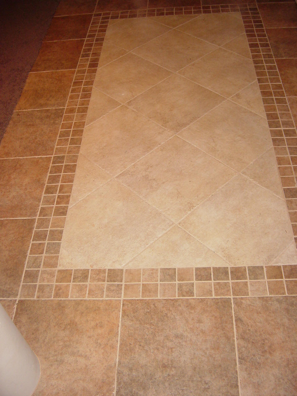 Bathroom Ceramic Tile Flooring EwdInteriors - Bathroom ceramic tile floor