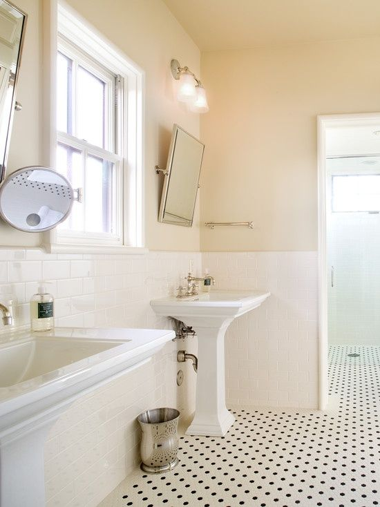 Photo Gallery Of The White Subway Tile Bathroom Design