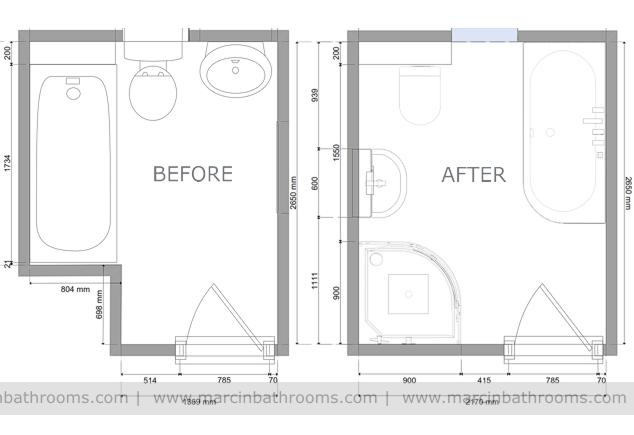 Bathroom Design Floor Plan EwdInteriors - Bathroom floor plan