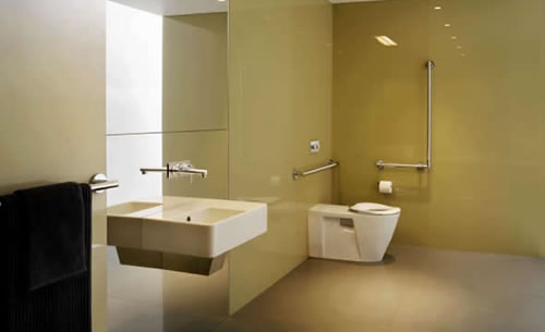 9 Popular Commercial Bathroom Design Ideas: Commercial Bathroom Designs