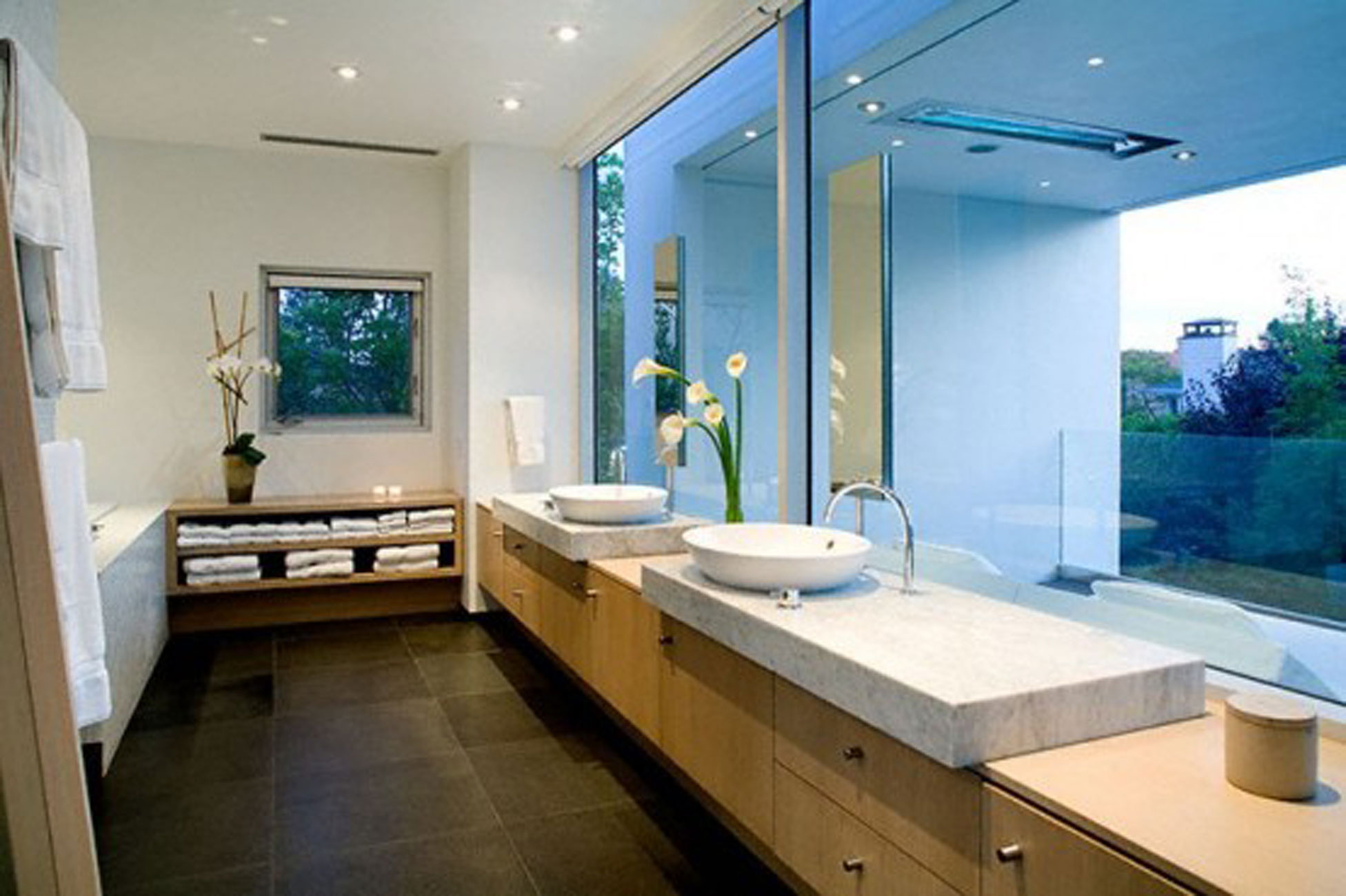 cool modern relaxing and zen bathroom design ewdinteriors
