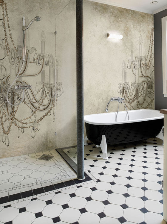 bathroom wall paper. Photo Gallery of the Stylish Design Bathroom Wallpaper stylish design bathroom wallpaper  EwdInteriors