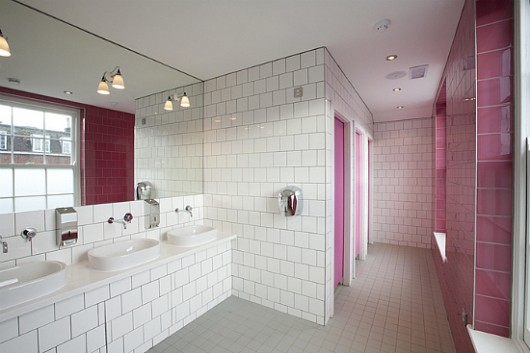 photo gallery of the restaurant pacatar interior bathroom - Restaurant Bathroom Design