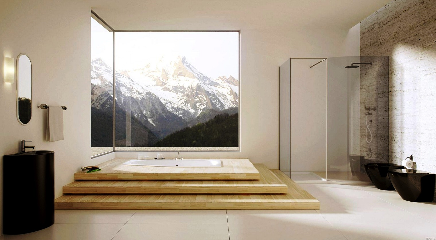 modern asian style bathroom designs : ewdinteriors