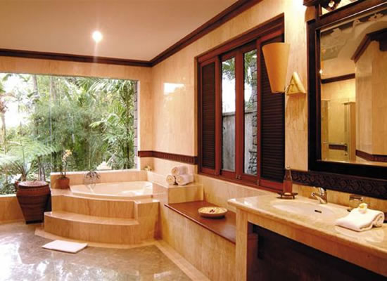 Photo Gallery Of The Tropical Bathroom Design