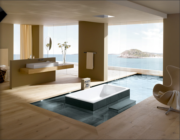 Photo Gallery Of The Modern Master Bathroom Designs