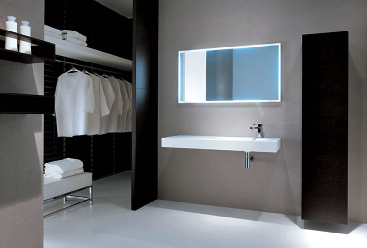 photo gallery of the modern minimalist bathroom design ideas - New Modern Bathroom Designs