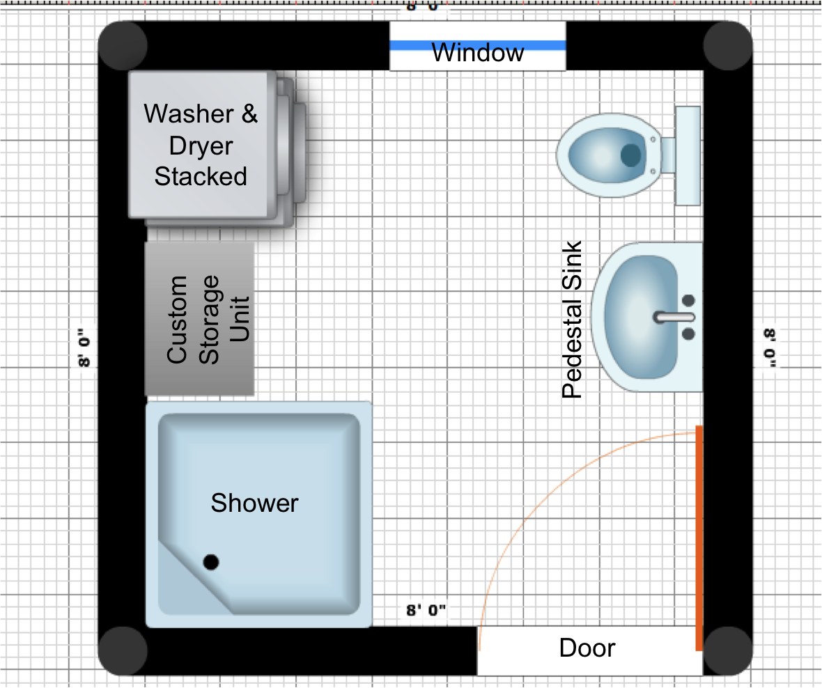 Small Bathroom Design Layout And Plans Ewdinteriors