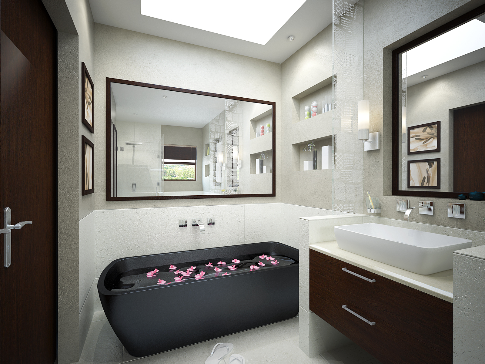 small bathroom designs : EwdInteriors