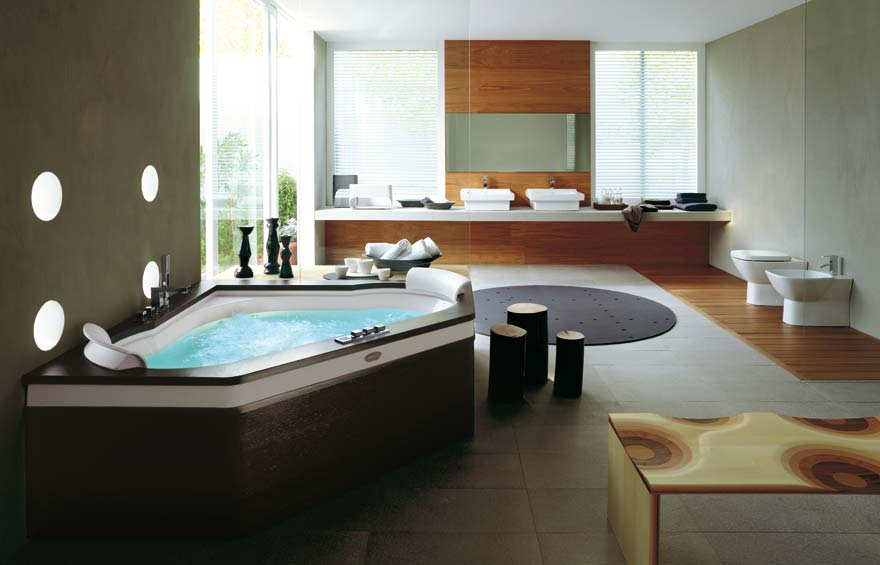 Photo Gallery Of The Modern Spa Bathroom Design Part 48
