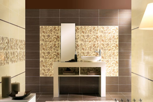 Stunning Mosaic Bathroom Wall Tiles