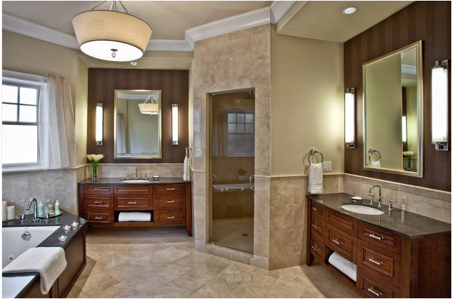 Photo Gallery Of The Master Bathroom Design In The Tuscan