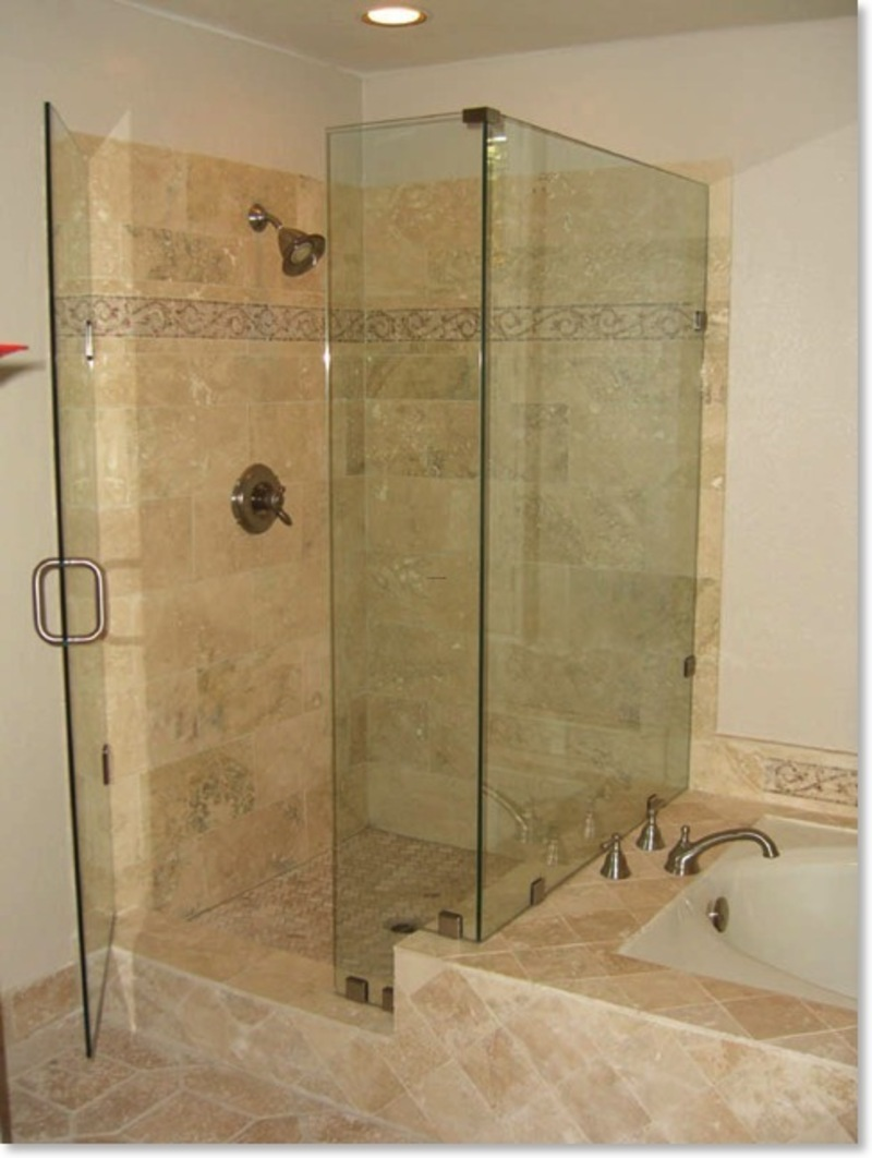 Bathroom tub and shower designs - Bathtub Shower Ideas