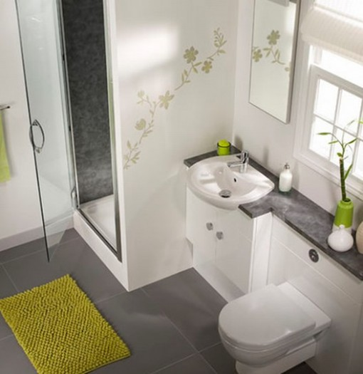 9 Top Notch Contemporary Small Bathroom Design: Beautiful Small Modern  Bathrooms Part 23